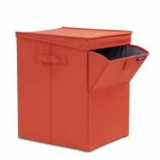 Корзина для белья Brabantia 109362 красная складная