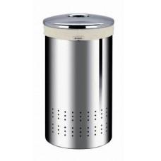 Корзина для белья Brabantia 313349 полированная сталь