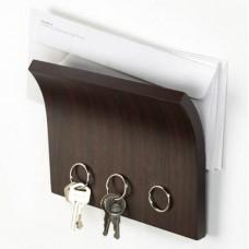 """Держатель для ключей и писем Umbra """"Magnetter"""" 318200-213Espresso"""