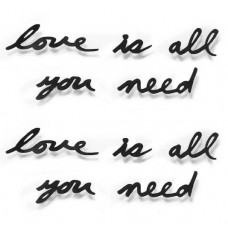 "Надпись декоративная Umbra ""Love is all... "" 470580-040"