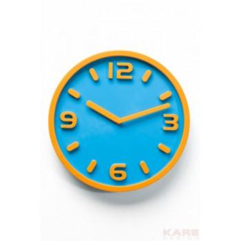 Часы настенные Kare 34619 blu