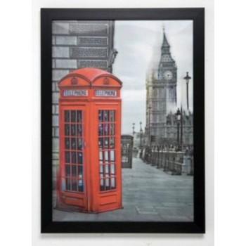 "Картина ""3D London Telephone"" Kare 34038"