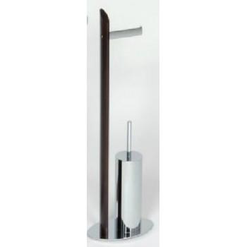Стойка с ершиком и держателем для туалетной бумаги Andrea House BA8480