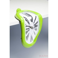 "Часы ""Flo Pop"" Kare 34045 light green"