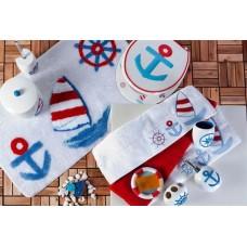 Набор аксессуаров для ванной Primanova Aqua D-17950