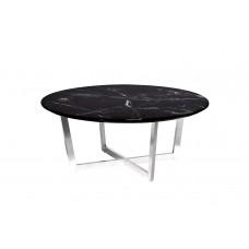 Стол журнальный черный (искусственный мрамор) 33FS-CT2029-BS