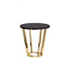 Столик журнальный коричневый (искусственный мрамор) 33FS-ET20С05-PG