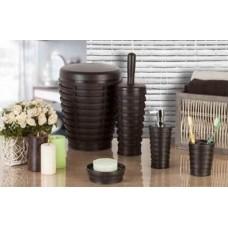 Набор аксессуаров для ванной Primanova Palm D-15930 коричневый
