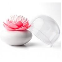Контейнер для ватных палочек Umbra Lotus розовый QL10157-WH-PK