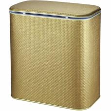 Корзина для белья Cameya Punto PBB-M-9 с микролифтом средняя Бронза, кант бронза
