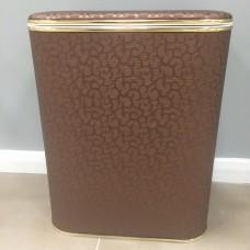 Корзина для белья Cameya FDG-B коричневая винил большая
