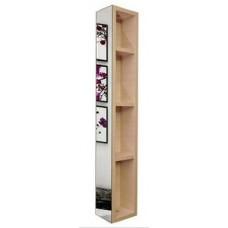 Шкаф поворотный, с 3-мя зеркалами Хоп Молочный дуб