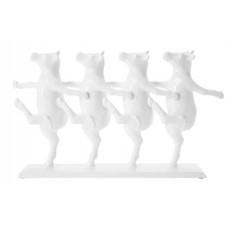 """Элемент декора """"Танцующие коровы"""" белые Kare 69748"""