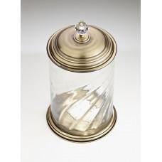Корзина стеклянная WellWood OLD BRITISH AC-0215B0209