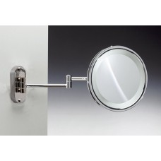 Зеркало подвесное с флуор.подсветкой (белый свет) 3-х кратное WINDISCH 99180CR