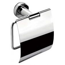 Держатель для туалетной бумаги с крышкой 14 см. хром Colombo В2791