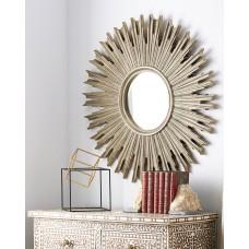 Зеркало в раме Эллисон LouvreHome (Florentine silver)