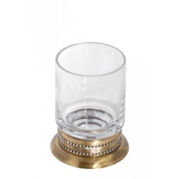 Стакан настольный стеклянный прозрачный Cameya A1414