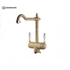 Дозатор для моющего средства OM-02-PVD-G латунь/светлое золото 4995005
