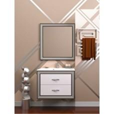 Мебель для ванной комнаты Opadiris Карат Серебро 80