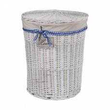 Корзина для белья из ивовой лозы круглая № 1 C055 S/3 большая