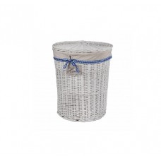 Корзина для белья из ивовой лозы круглая № 3 C055 S/3 малая