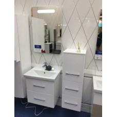 Мебель для ванной Smile Арабеско 70 Белый глянец