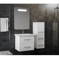 Мебель для ванной Smile Арабеско 60 Белый глянец