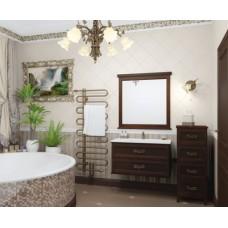 Мебель для ванной комнаты Opadiris Гарда Орех 90