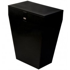 Корзина для белья черная Colombo Black&White В9201 EPN