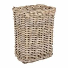 Корзина для зонтов плетеная прямоугольная 17017 S/3 серая