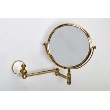Зеркало косметическое бронза Sanartec 881023/1