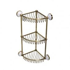Полка-решетка угловая тройная Sanartec 881030/1