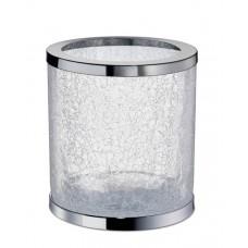 Корзина для мусора круглая без крышки кракле Windisch 89164CR