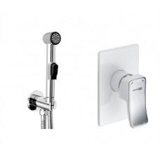 Гигиенический душ комплект Wasserkraft Aller A010657WHITE (120 см)