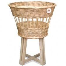 Корзина плетеная на деревянных ножках A13-04 S/1