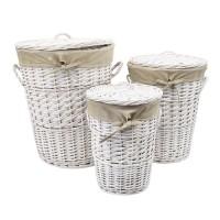 Плетеная корзина для белья Aller WB-106-S