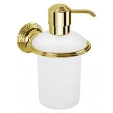 Дозатор для жидкого мыла настенный Colombo Hermitage B9335.HPS золото