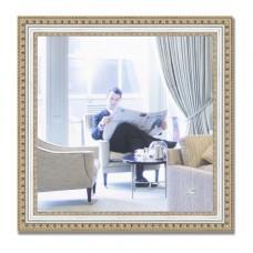 Зеркало в багетной раме BY 0782