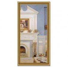 Зеркало в багетной раме BY 1052