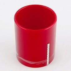 Стакан для зубной пасты Roma D-15233 красный