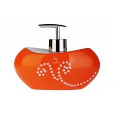 Дозатор для жидкого мыла Maison D-15370 оранжевый