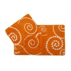 Коврик для ванной и туалета Maison D-15383 orange