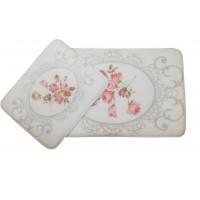 Коврик для ванной комплект Sofya Memory Foam D-18423