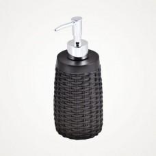 Дозатор для жидкого мыла Rattan D-19920 коричневый