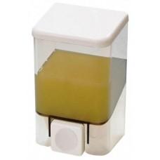 Диспенсер для жидкого мыла настенный Bravo D-SD02 прозрачный (500 мл)