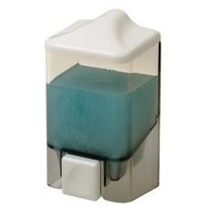 Диспенсер для жидкого мыла настенный D-SD06 прозрачный (1000 мл)