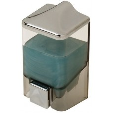 Диспенсер для жидкого мыла настенный D-SD08 прозрачный (1000 мл)