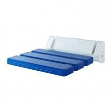 Сиденье для душа откидное синее Ridder Assistent А0020103