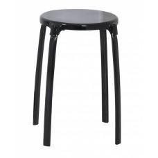 Табурет круглый для ванной черный Ridder Promo А1050110